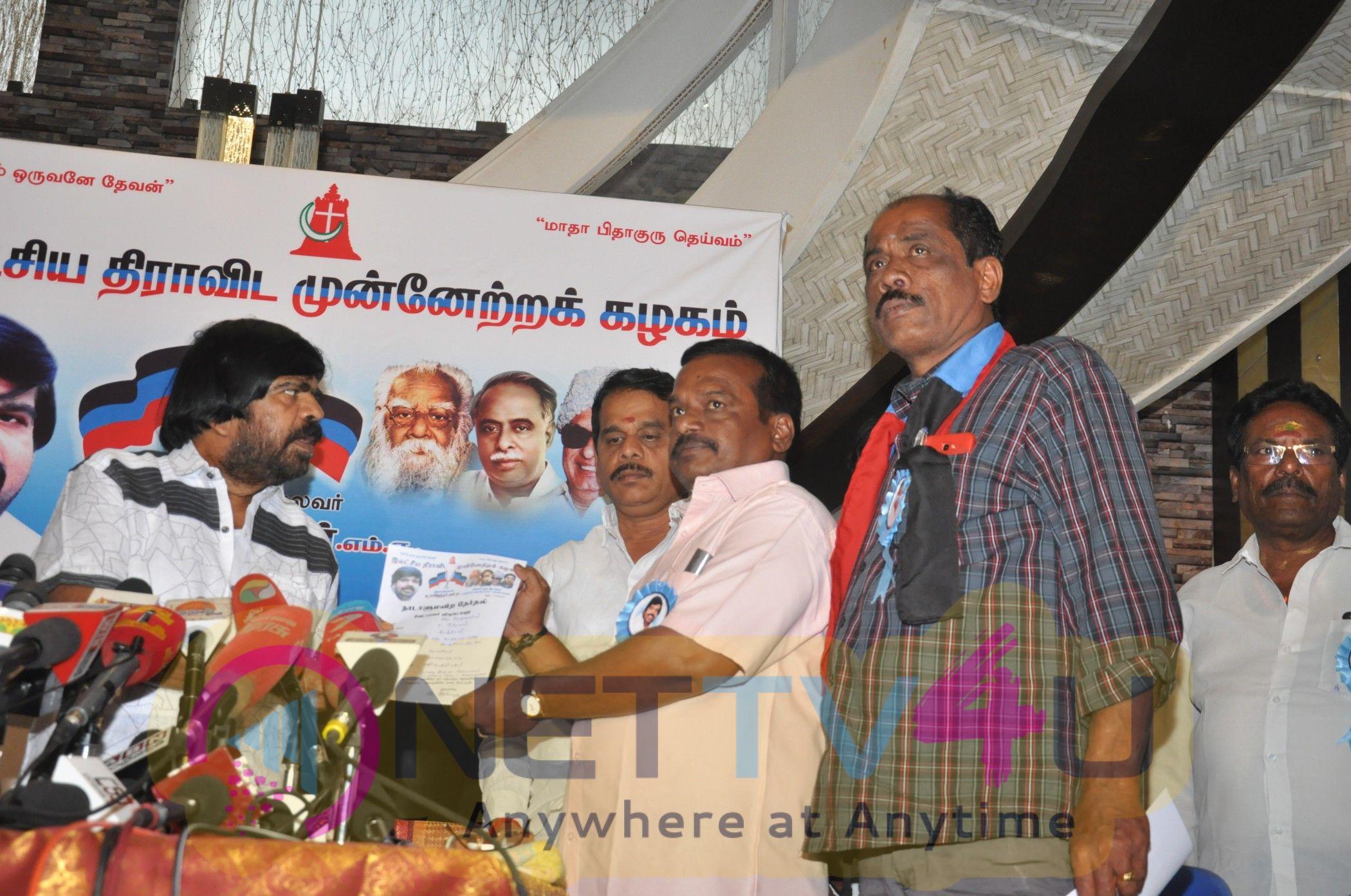 T.Rajendar Political Press Meet Stills  Tamil Gallery