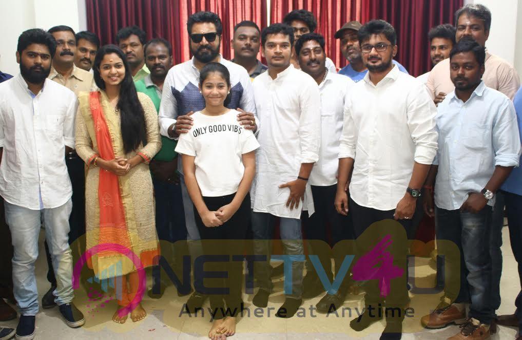 Sarathkumar's Next Venture  A Spy Thriller Movie Chennaiyil Oru Naal 2 Pooja
