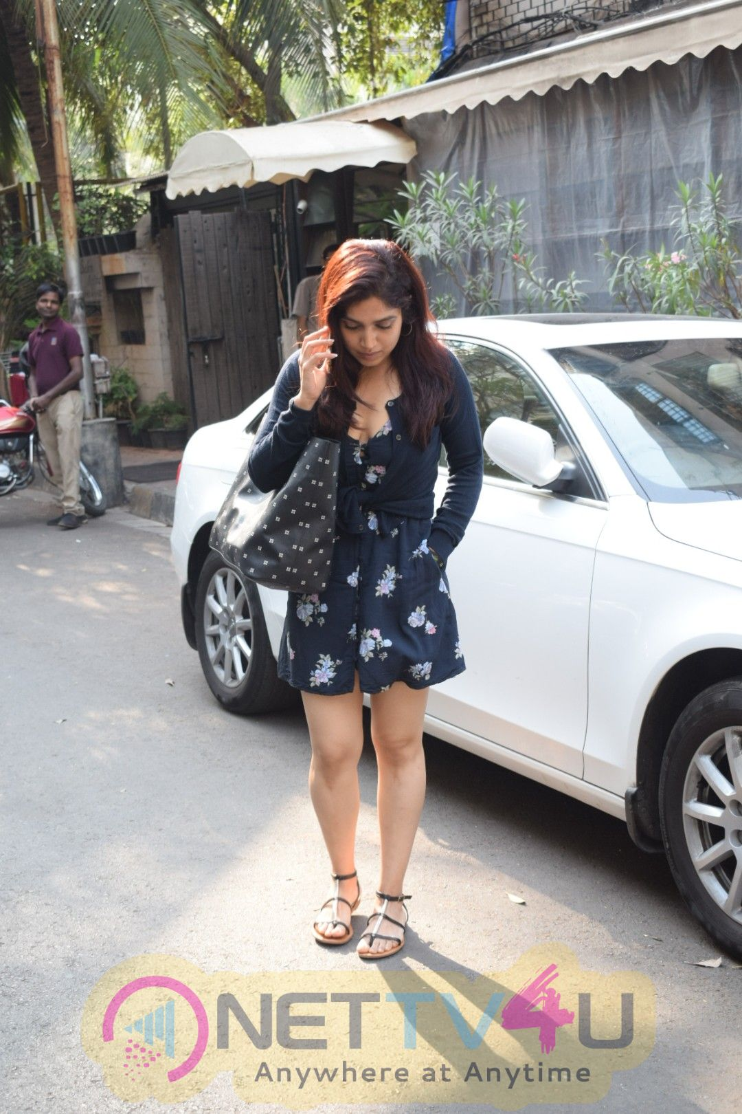 Bhumi Pednekar Went To Indigo Restaurant In Andheri