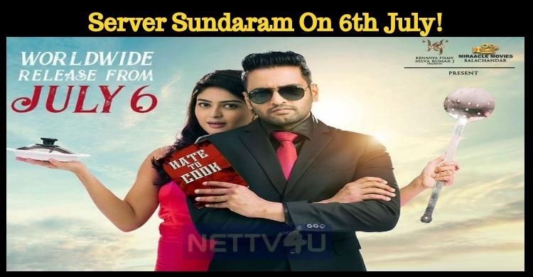 Santhanam's Server Sundaram To Hit The Screens On 6th July!