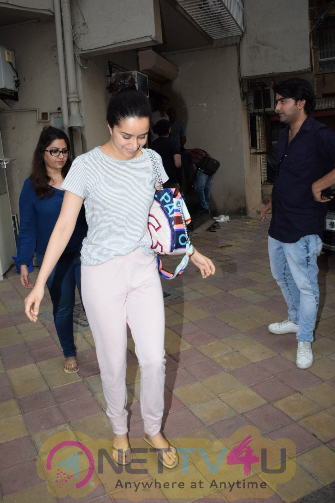 Shraddha Kapoor Came To  Dubbing Studio Photos