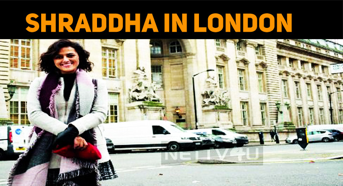 Shraddha Srinath In London?