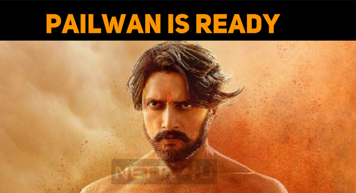 Sudeep's Pailwan Is Ready For The Release!