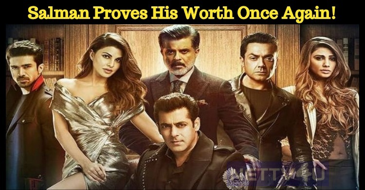 Salman Proves His Worth Once Again!