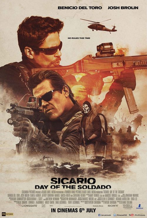 Sicario : Day Of The Soldado Movie Review English Movie Review
