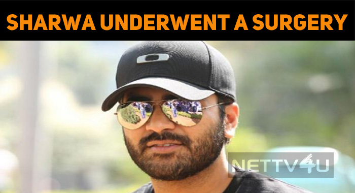 Sharwanand's Shoulder Surgery Successful!