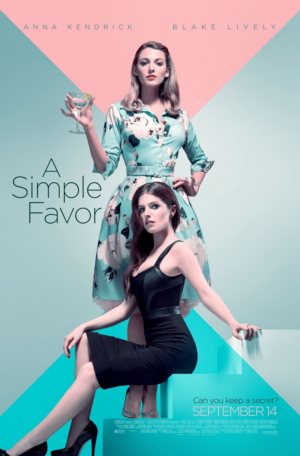 A Simple Favor Movie Review English Movie Review