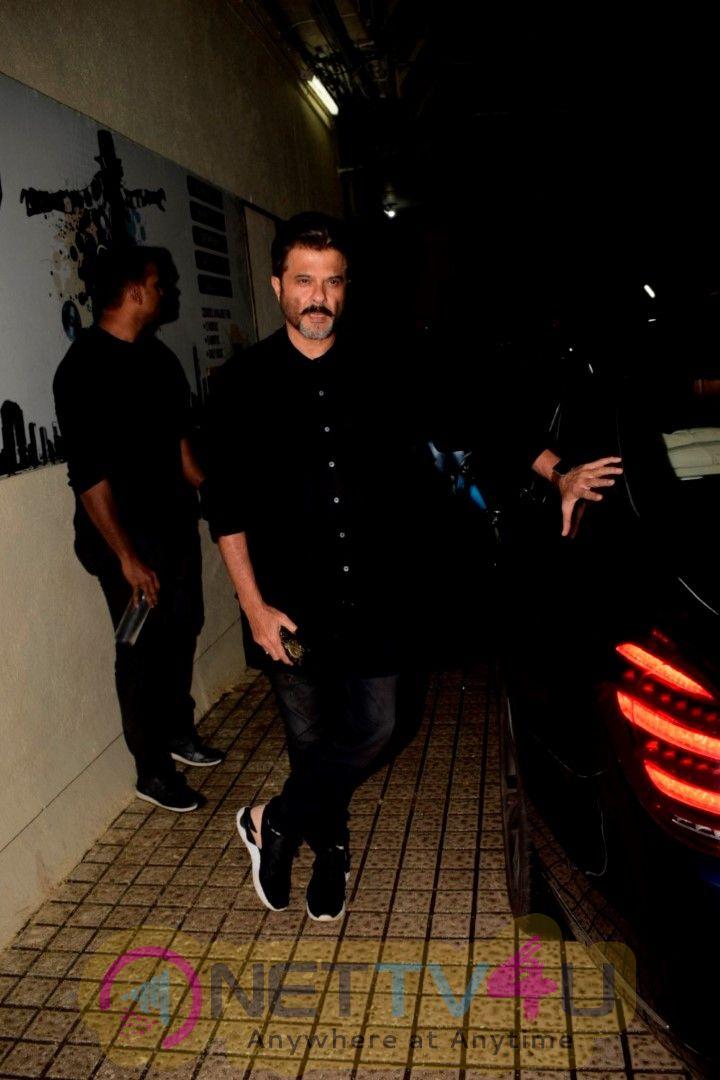 Anil Kapoor Spotted At Dhadak Screening At Pvr Juhu Cute Images