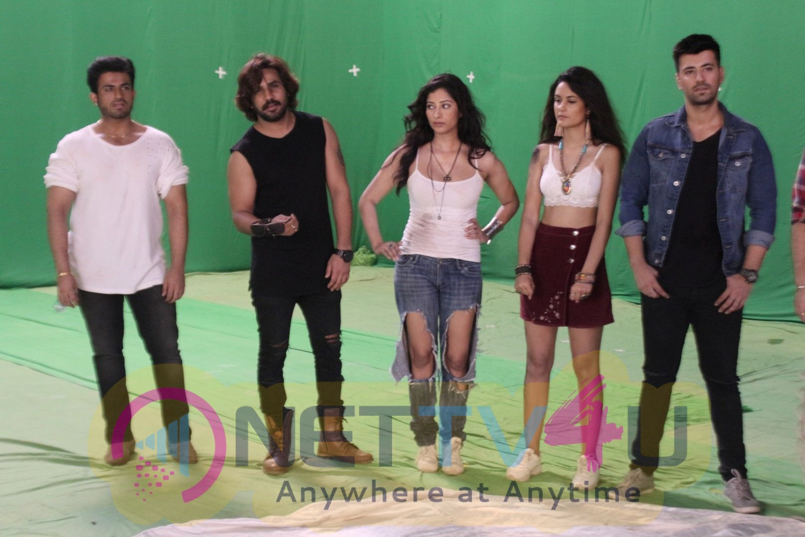Niharica Raizada At The Poster Shoot Of Her New Webseries Event Images