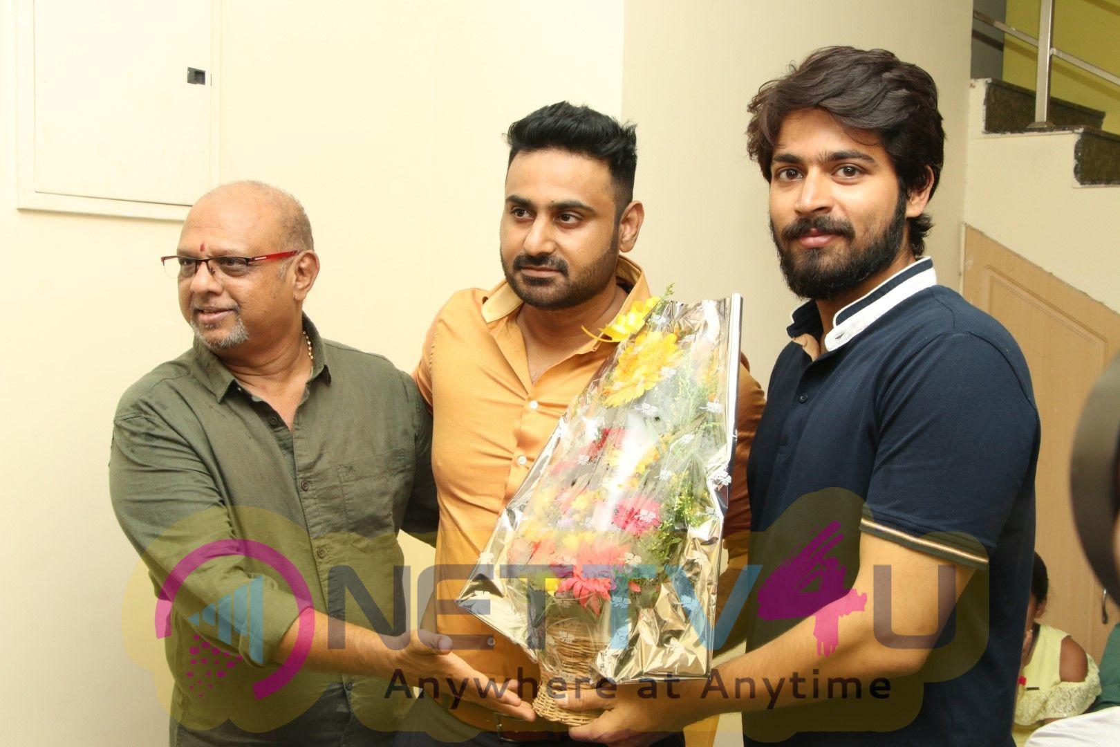 Yuvan Shankar Raja Launch In Green Apple Productions Photos