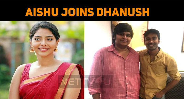 Aishwarya Joins Dhanush!
