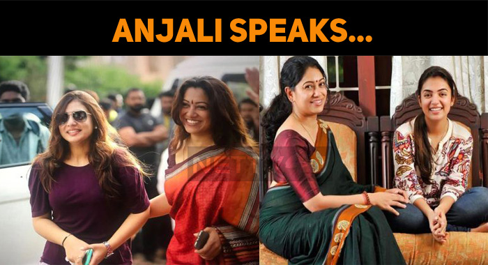 Anjali Speaks About Nazriya!
