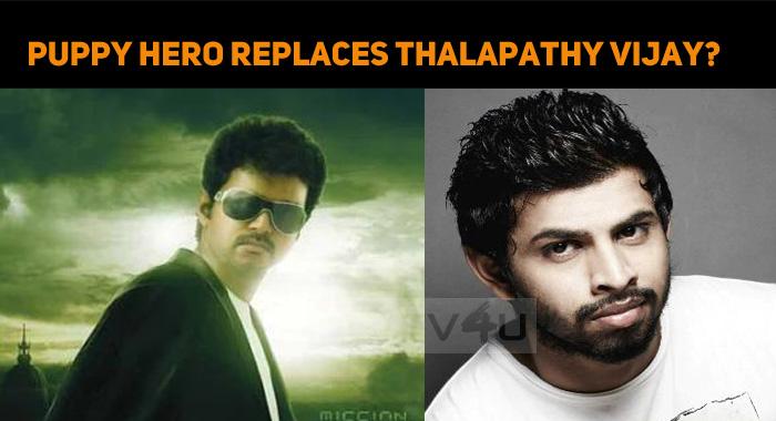 Puppy Hero Replaces Thalapathy Vijay?
