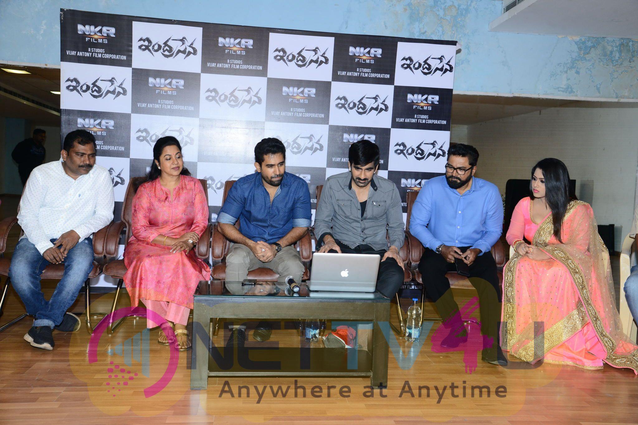 Indrasena Movie Song Launch By Ravi Teja Stills