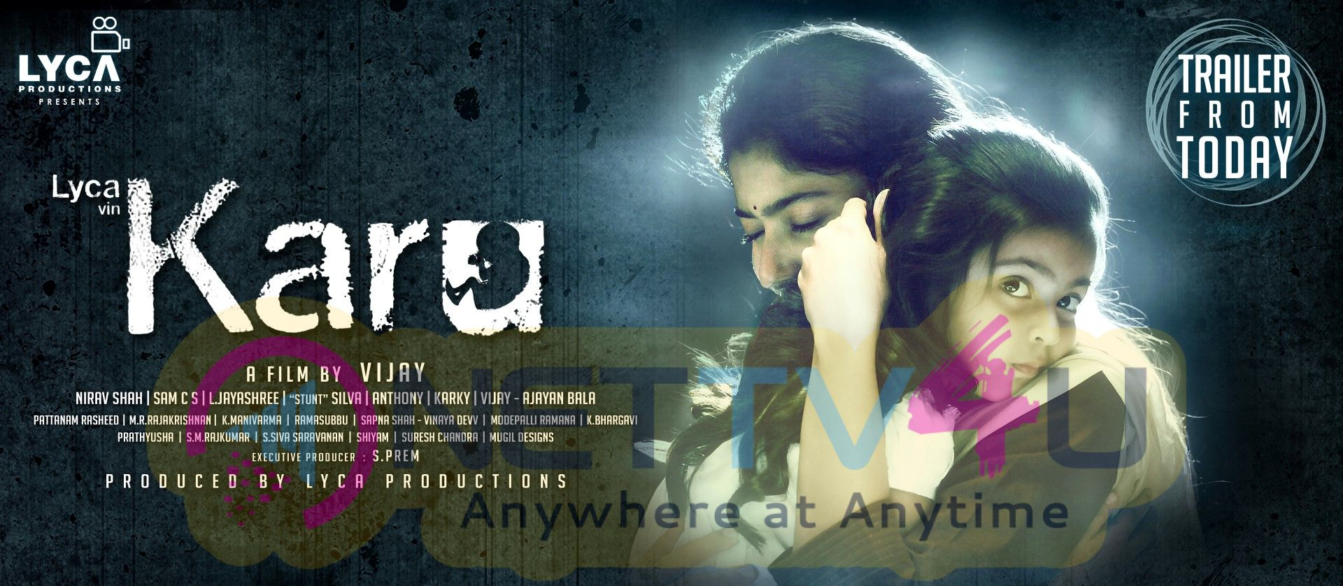 Karu Tamil Movie Trailer From Today Posters