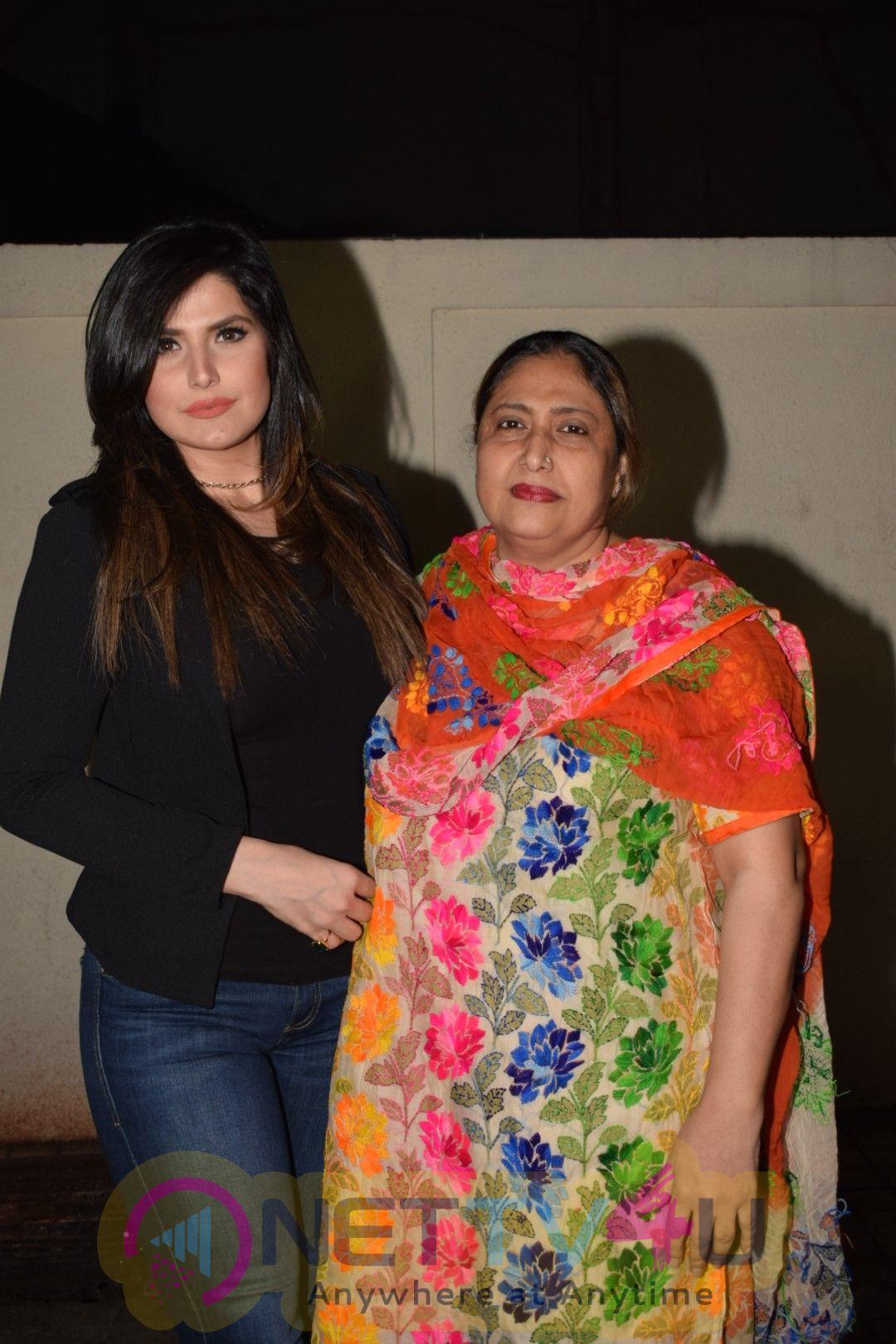 Zareen Khan Host Special Screening Of Film Aksar 2 Stills