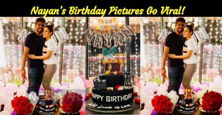 Nayan's Birthday Pictures Go Viral!
