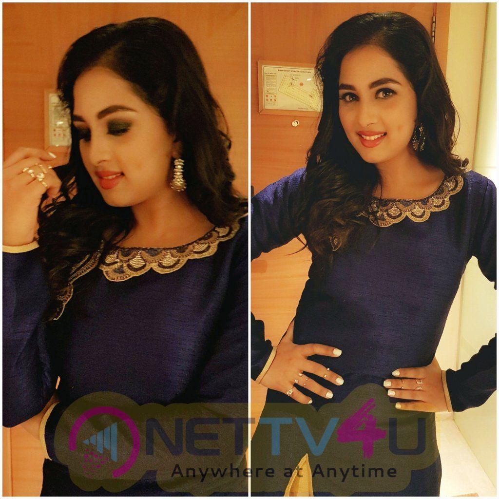 Actress Srushti Dange Cute Images Tamil Gallery