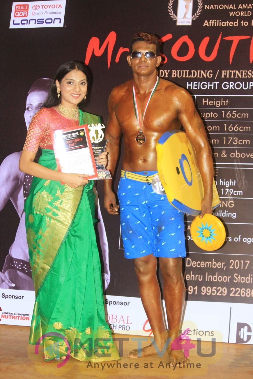Director Vijay Paramasivam Won  Mr.south India 2017 Pics