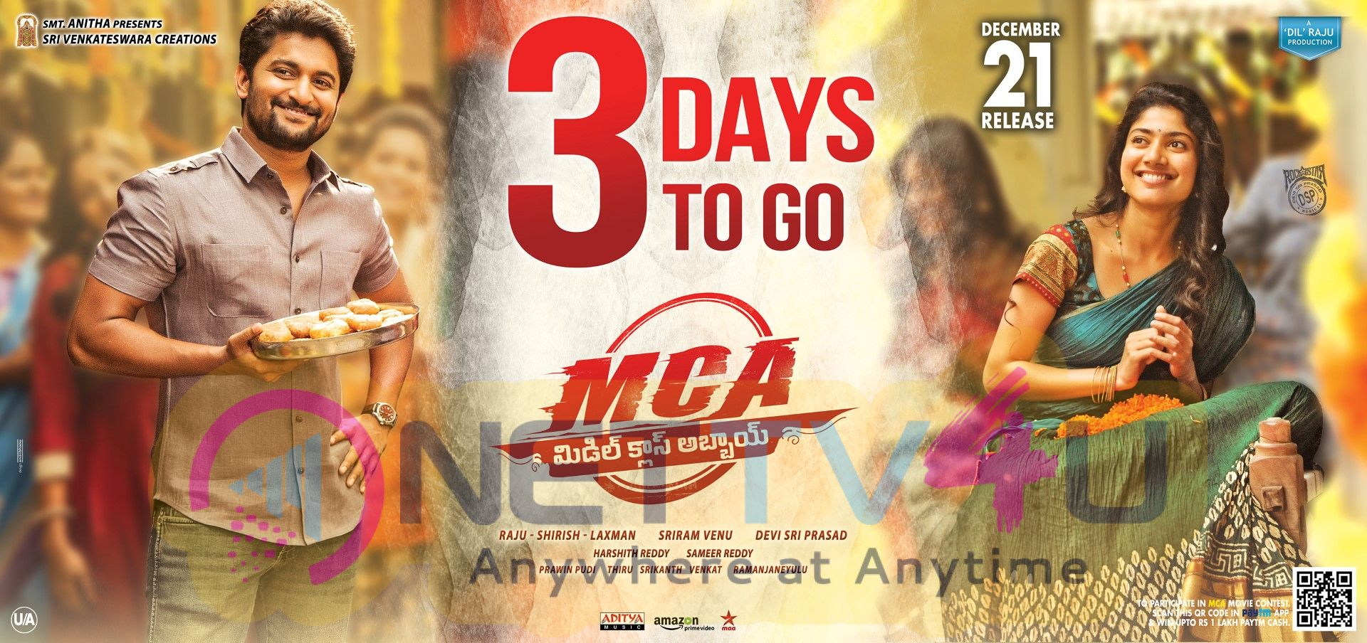 MCA Movie 3 Days To Go Posters