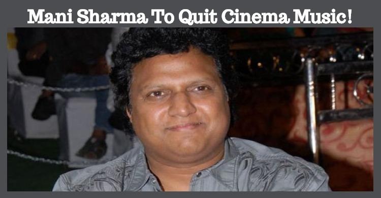 Popular Musician To Quit Cinema!