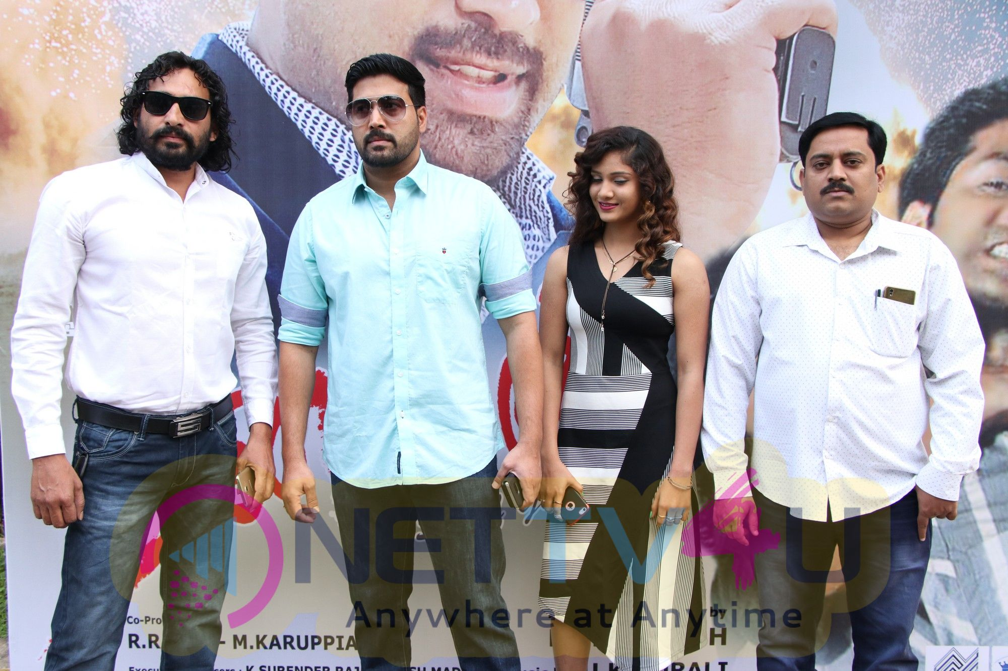Thanayan Movie Audio Launch Photos