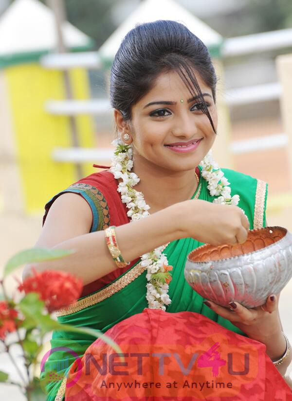 Actress Rachita Ram Attractive Stills Kannada Gallery