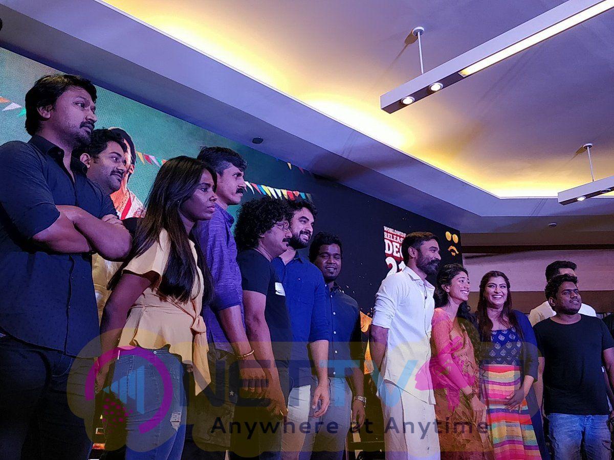 Maari 2 Movie Press Meet Pics Tamil Gallery