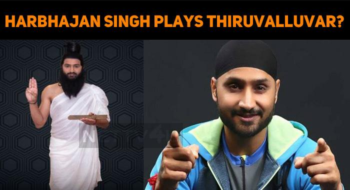 Harbhajan Singh Plays Thiruvalluvar?