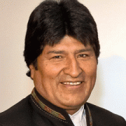 Evo Morales English Actor
