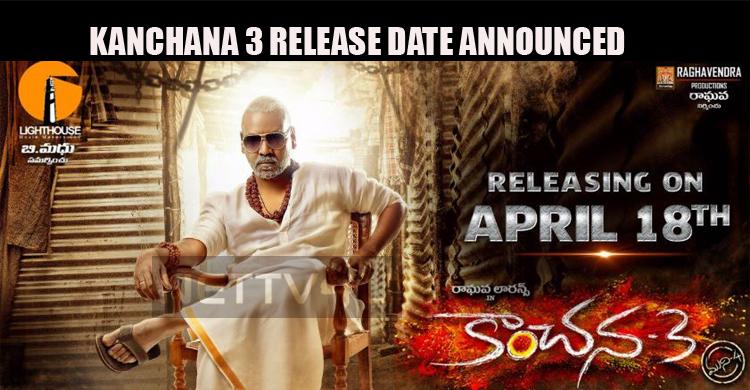Kanchana 3 Release Date Announced!