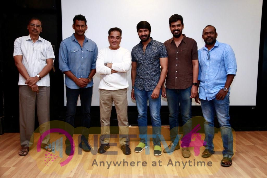Vishal Team Invites Superstar Rajinikanth & Ulaganayagan Kamal Haasan For Ilaiyaraaja 75 Photos Tamil Gallery