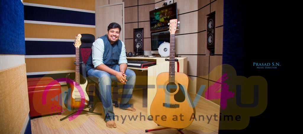 Music Director Prasad SN Good Looking Images
