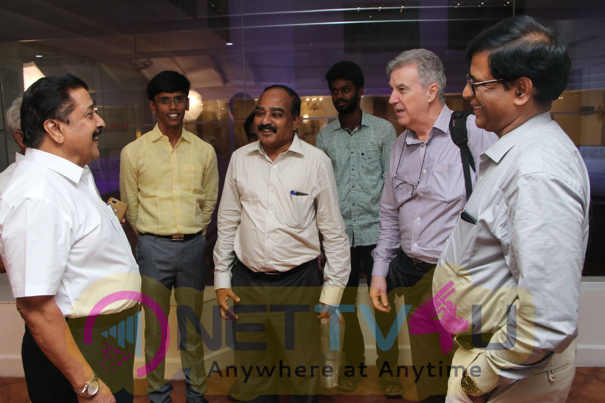 Actor Sivakumar's Mahabharatham Book Translated Into The Italian Language Version Launch Event Pics