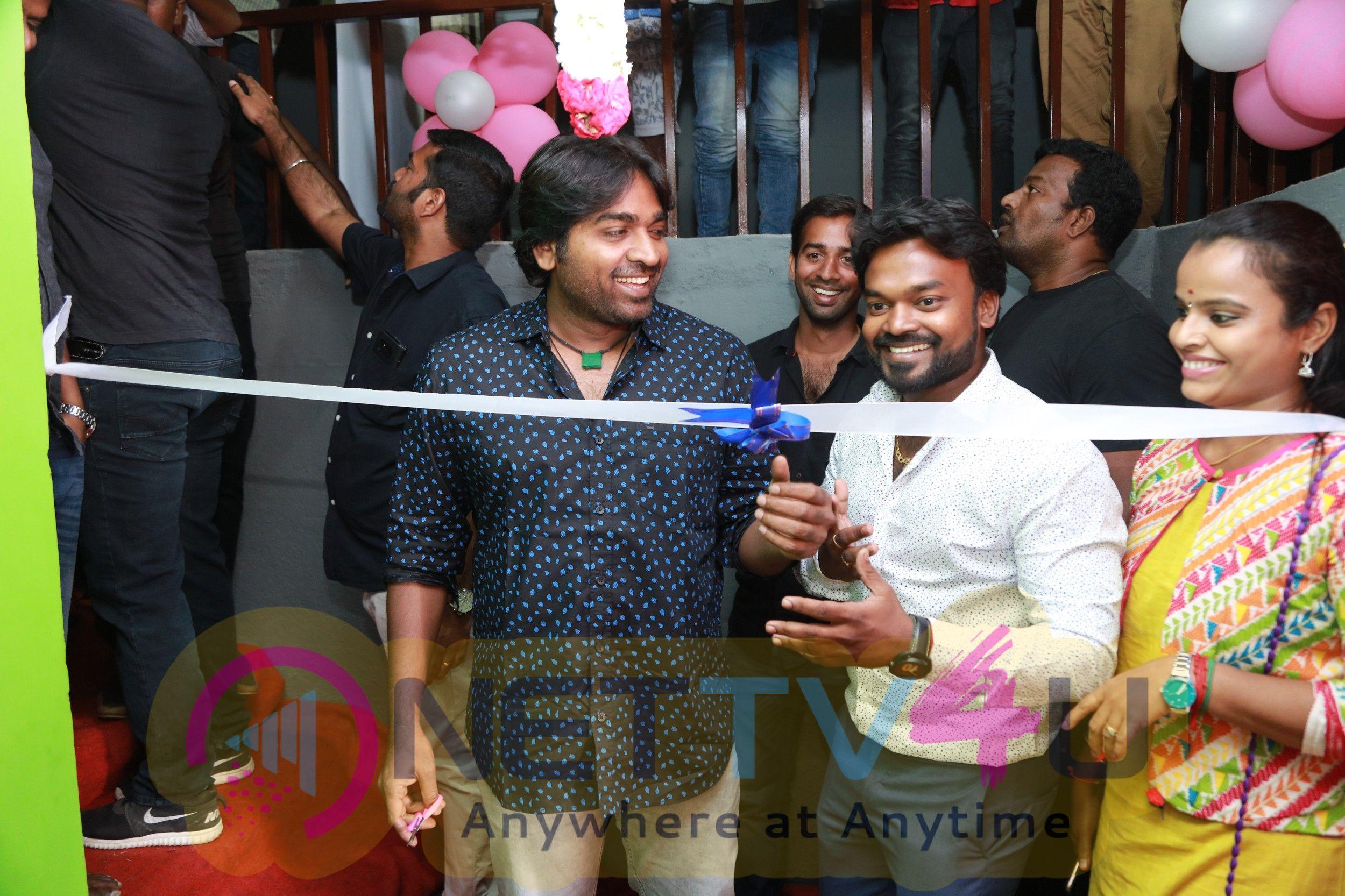 Makkal Selvan Vijay Sethupathi At Chals Dance Studio Grand Opening Stills
