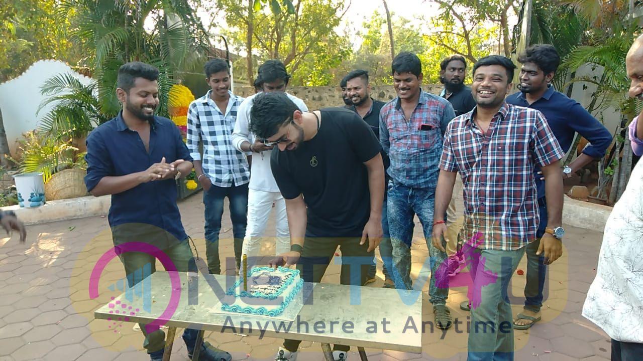 Actor Mahat Birthday Celebration Stills Tamil Gallery