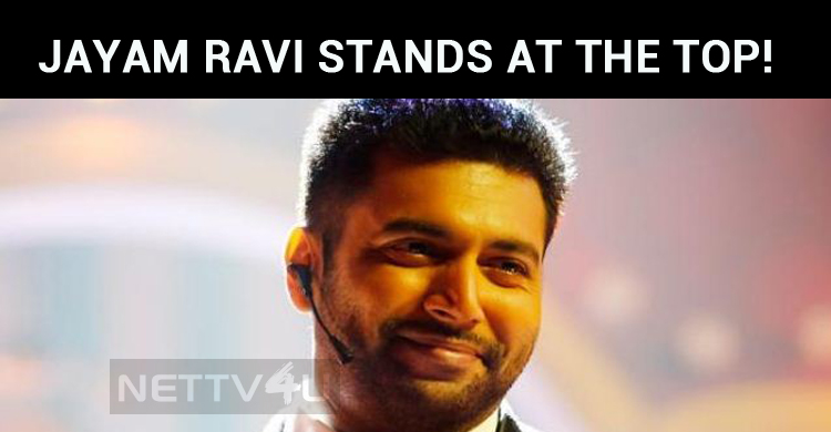If It Is An Experimental Movie, It Is Jayam Ravi, Who Stands At The Top!