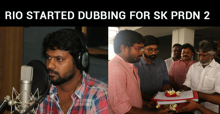 Sivakarthikeyan's Second Production Venture Dubbing Started!