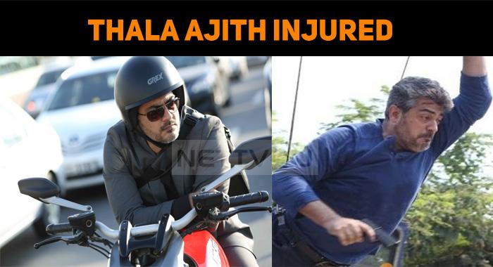 Thala Ajith Injured – Get Well Soon Thala