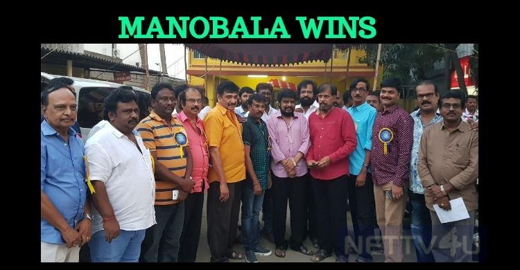 Manobala Wins The Writers Union Election!