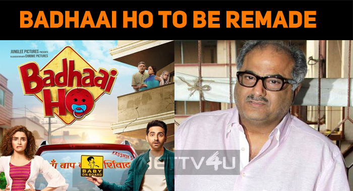 Badhaai Ho To Be Remade In All Southern Languag..