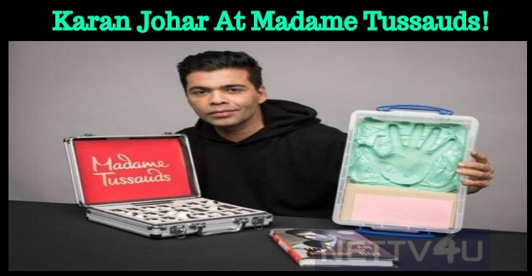 Karan Johar Gets A Wax Statue At Madame Tussaud..