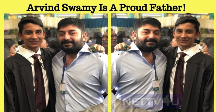 Arvind Swamy Is A Proud Father!