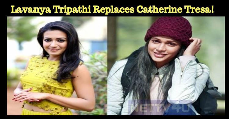 Lavanya Tripathi Replaces Catherine Tresa!