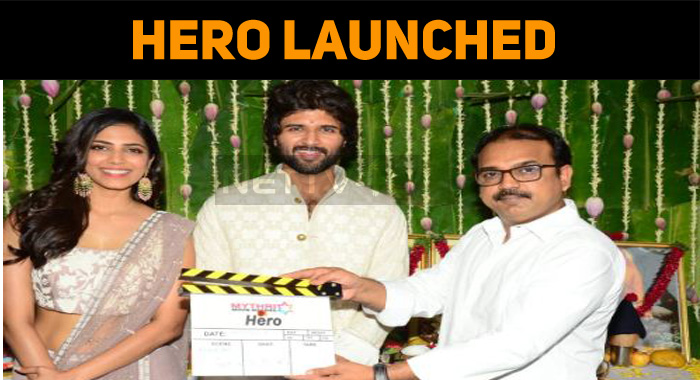 Vijay Deverakonda's Hero Launched!