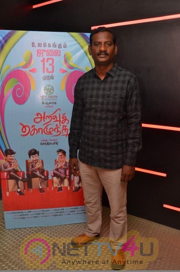 Arivukolunthuha Tamil Movie Press Meet Stills