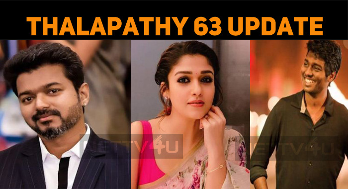 AGS Announces An Update On Thalapathy 63!
