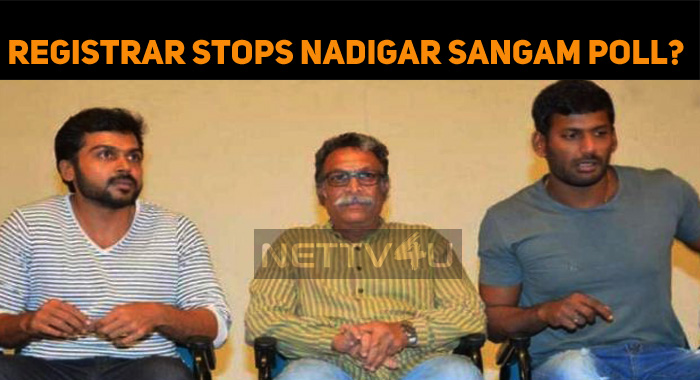 District Registrar Stops Nadigar Sangam Election!