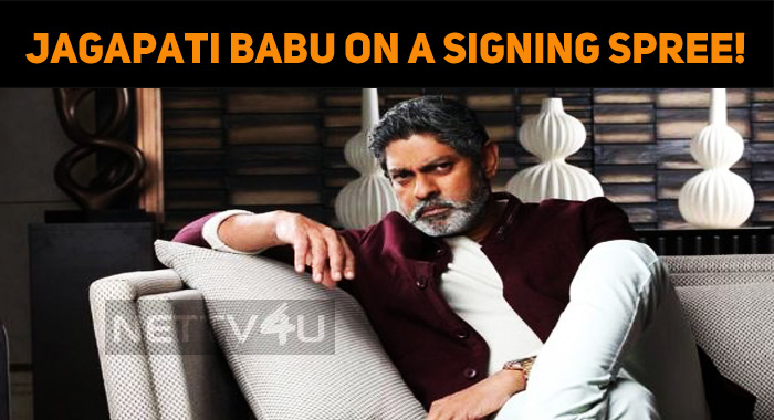 Jagapati Babu On A Signing Spree!