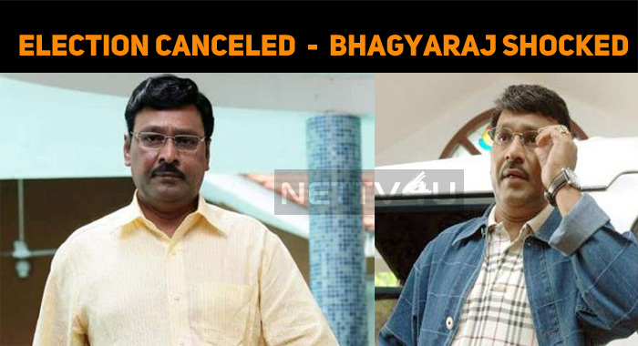 Nadigar Sangam Election Cancelled - Bhagyaraj S..